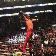 Nakamura as NXTChampion