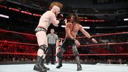 Rollins punch Sheamus