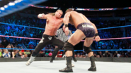 Ziggler took a punch to Roode