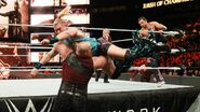 Rowan catches Tyler Breeze out of the air