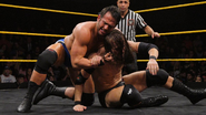 Strong taking on Adam Cole