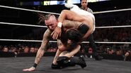 Aleister grappling Andrade