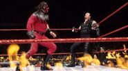 Kane facing the Undertaker