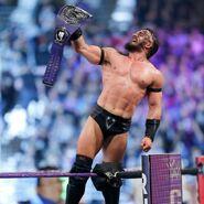 Neville as WWE Cruiserweight Champion