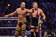Cesaro and Swagger at WrestleMania 30