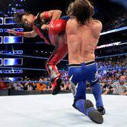 Nakamura KInshasa on AJ Styles