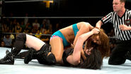 Emma attacking Paige