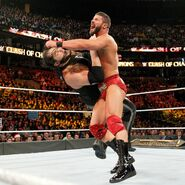 Roode attack Corbin