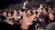Tajiri winning the WCW Cruiserweight Champion