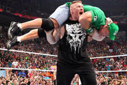 Brock Lesnar return 2012