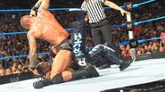 Orton punches Truth