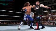 Styles fighting off Owens