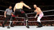 Sami-Zayn face-off Mike-Kanellis