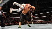 John-Cena putting Seth-Rollins in an AA