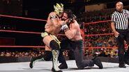Kalisto headlock on Elias