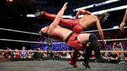 Samoa Joe kicked by Nakamura