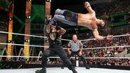 Seth drop-kick Roman