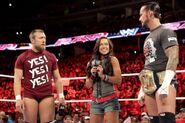 Daniel Bryan AJ Lee and CM Punk