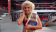 Alexa-Bliss as Womens Champion at TLC