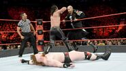 Rollins distracted by Cesaro while Sheamus