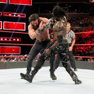 R-Truth fighting Elias