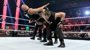 The-Rock powerbomb by the Shield