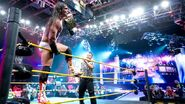 Bo winning NXT Champion