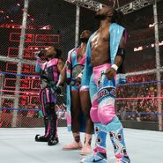 New-Day prepare to defend the SmackDown Tag Team Championship