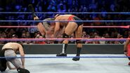 Orton hit an RKO Rusev once again