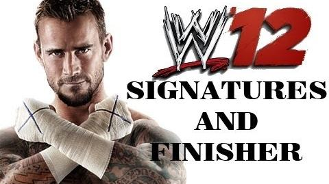 CM Punk - SHINING WIZARD AND GTS GO TO SLEEP - WWE 12 Gameplay Commentary