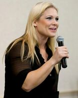 Beth-Phoenix-As-A-Host-Of-WrestleMania-Reading-Rally-in-RochesterNew-York