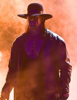 Undertaker w ogniu