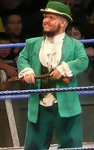 Hornswoggle with shilelagh