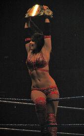 Layla as WWE Women's Champion
