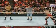 Match begins with Wade and CM Punk