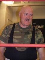 Sgt. Slaughter in April 09