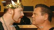 Sheamus as the new king