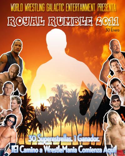 Afiche Royal Rumble 2011