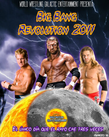 Afiche Big Bang Revolution 2011