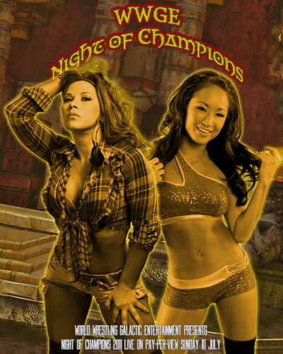 Afiche Night of Champions 2011 (B)