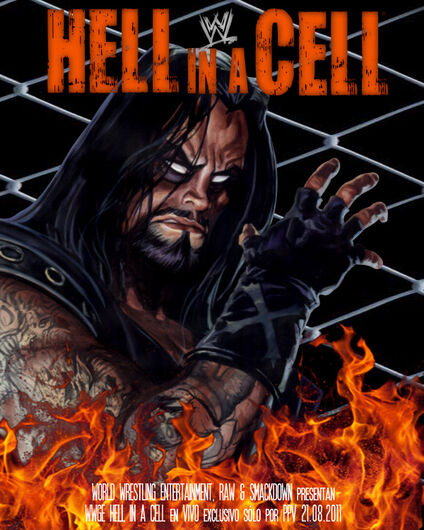 Afiche Hell in a Cell 2011