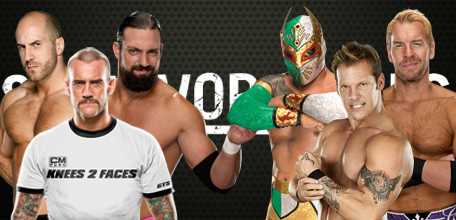 Team Punk vs Team Jericho SSr 13
