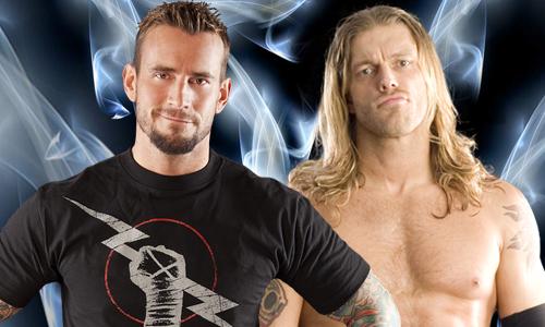 CM Punk vs Edge FE 2011