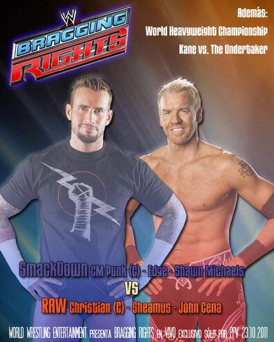 Afiche Bragging Rights 2011
