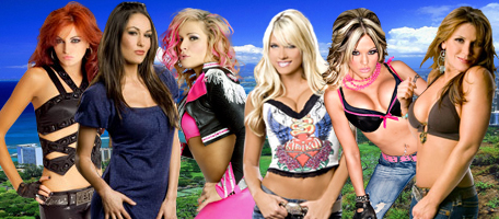 Divas Battle Royal RR 2010