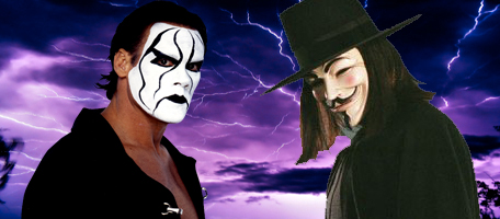 Sting vs V Unforgiven '09