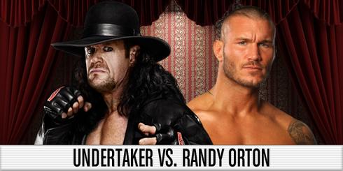 Undertaker vs Orton WM 27