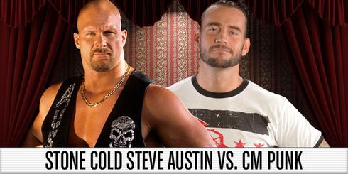 Steve Austin vs CM Punk WM 27