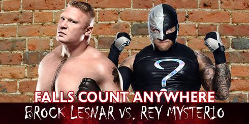 Lesnar vs Mysterio ER 12