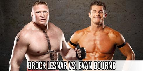 Lesnar vs Bourne EC '12
